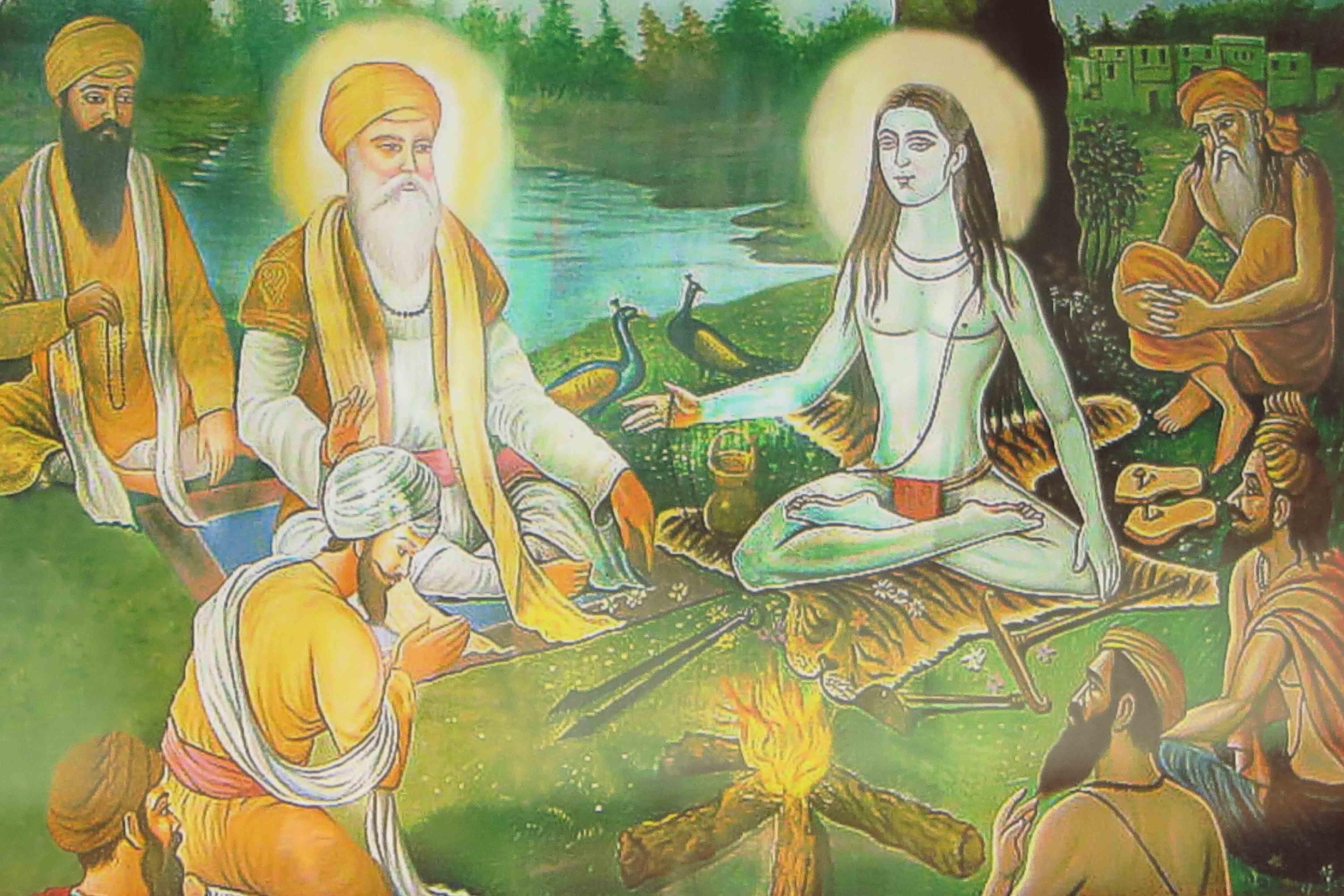Kundalini Yoga Galerie Schule Münster - Yogalehrer auf Forschungsreise in Indien